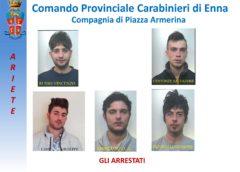 BARRAFRANCA: I CARABINIERI  DANNO ESECUZIONE A 4 MISURE CAUTELARI PER FURTI AGGRAVATI.