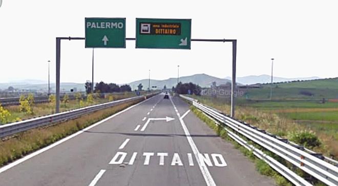 """SICILIA OUTLET VILLAGE, LAVORI DI PAVIMENTAZIONE SULLO SVINCOLO DI DITTAINO SULL' A19 """"PALERMO-CATANIA"""""""
