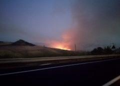 Incendi sull'autostrada A19… dalle 16.00 fino alla 17.00 spenti diversi focolai.